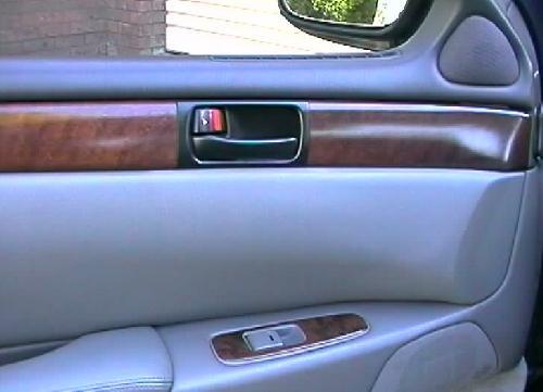 Wood-grain kit door switches